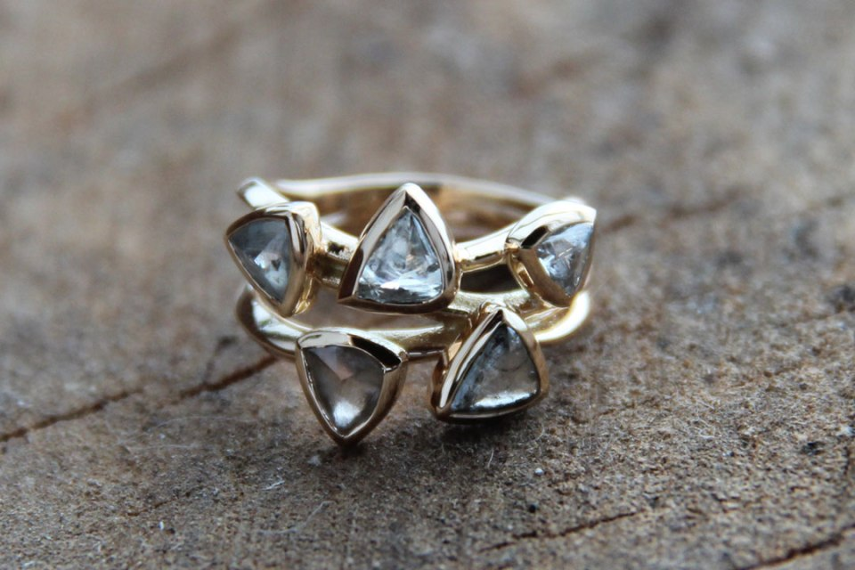 Macle Diamond Ring