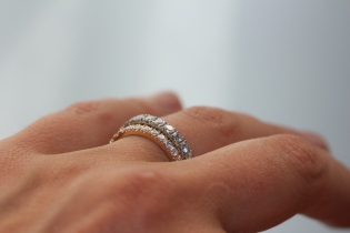 Pave Eternity Bands