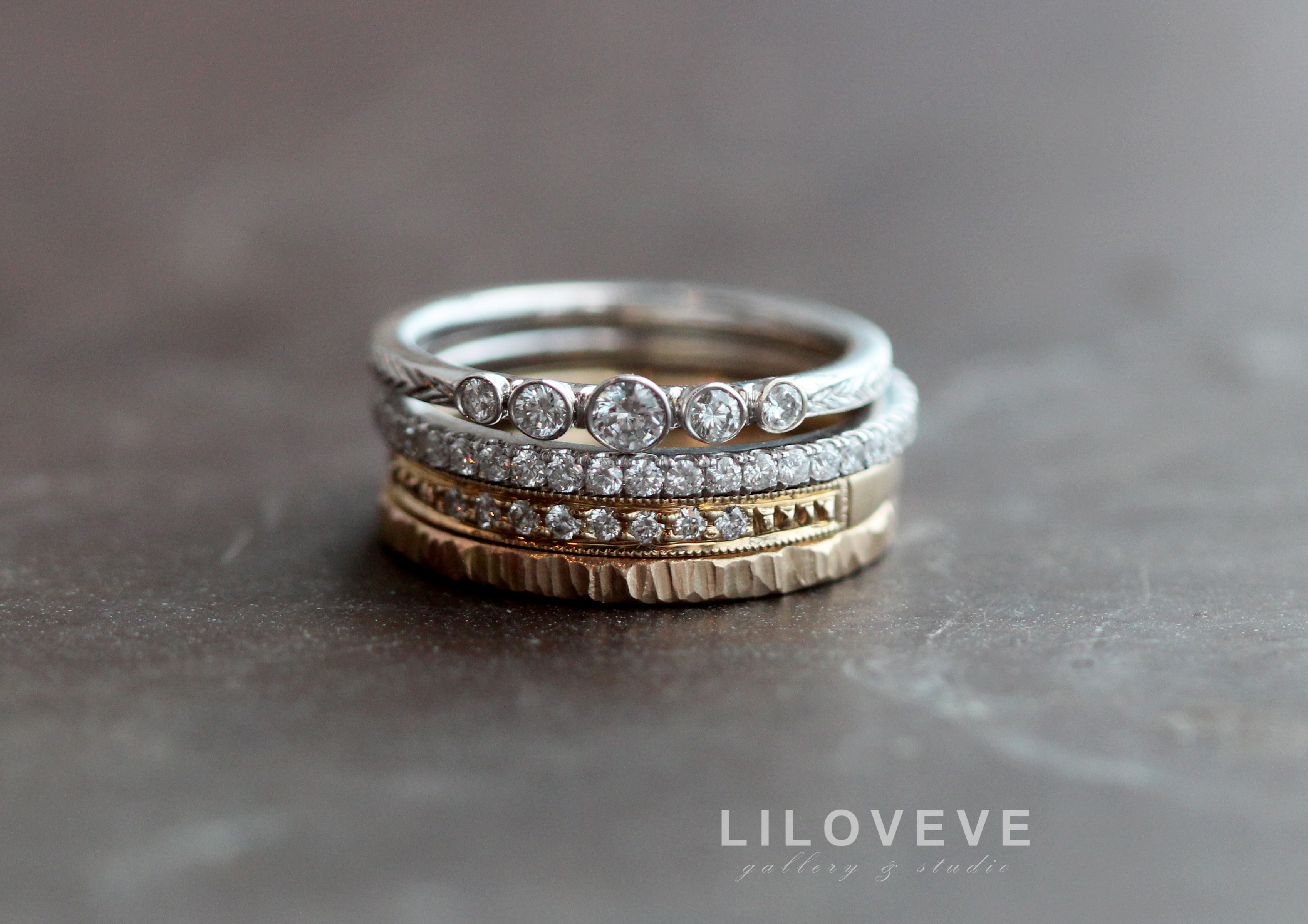 engagement bypass diamond cttw pave bands ring micro modern ritani band forevermark micropave wedding