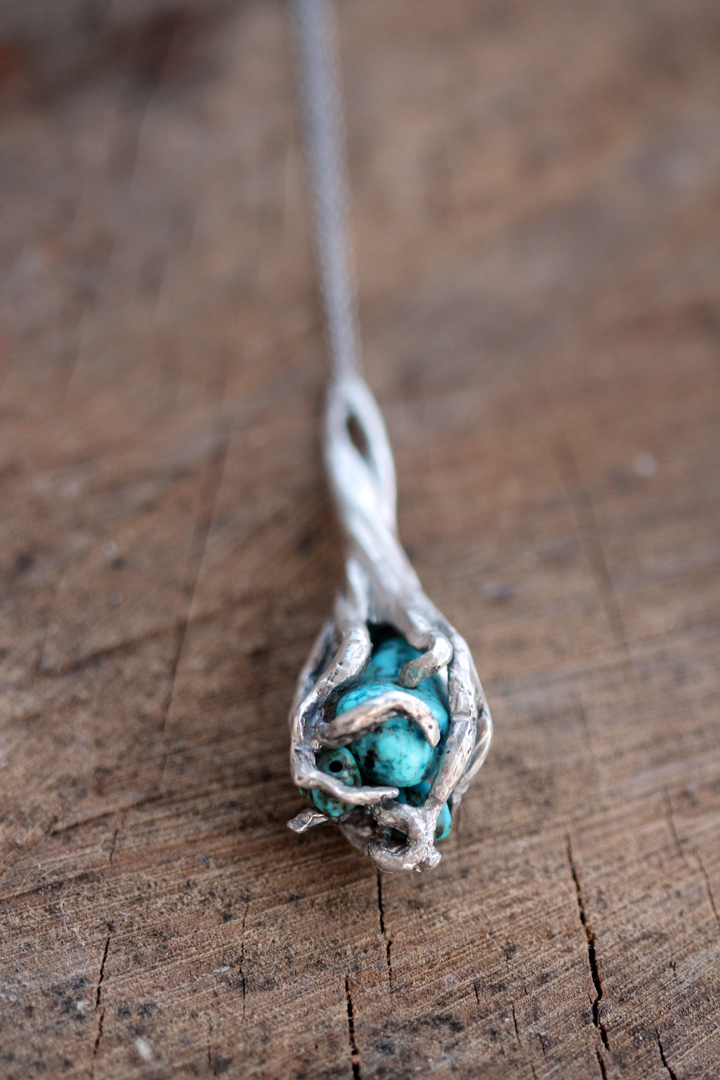 Uprooted Silver, Turquoise 2013