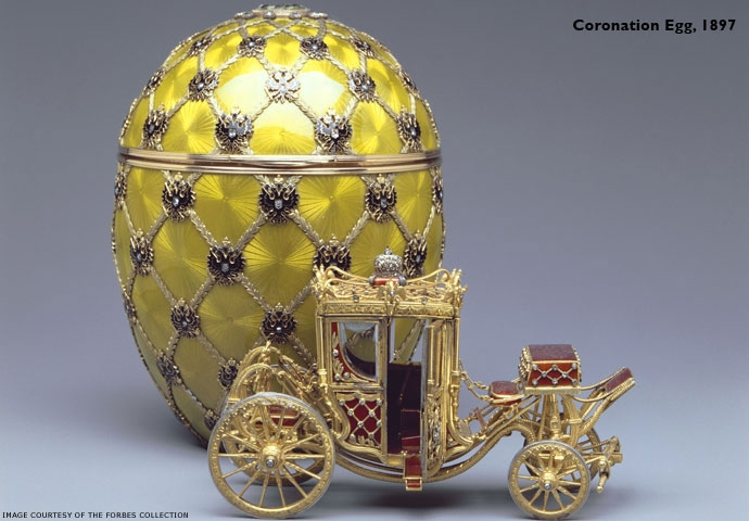 Coronation Egg, 1897. photo credt: www.faberge.com
