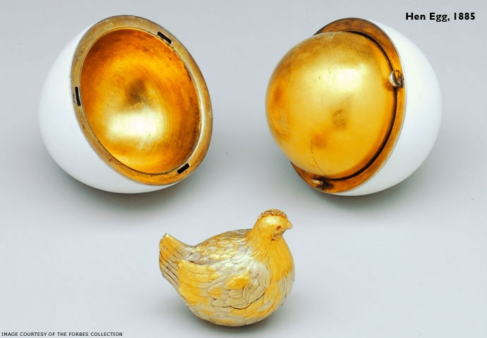 Hen Egg, 1885. photo credt: www.faberge.com