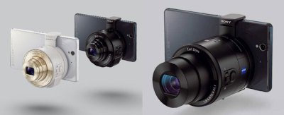 Sony QX10 and QX100