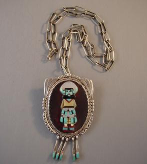 zuni chain+pendant