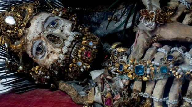 jewelled skeletons