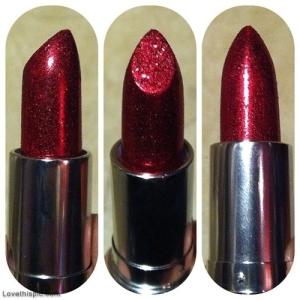 30538-Red-Glitter-Lipstick