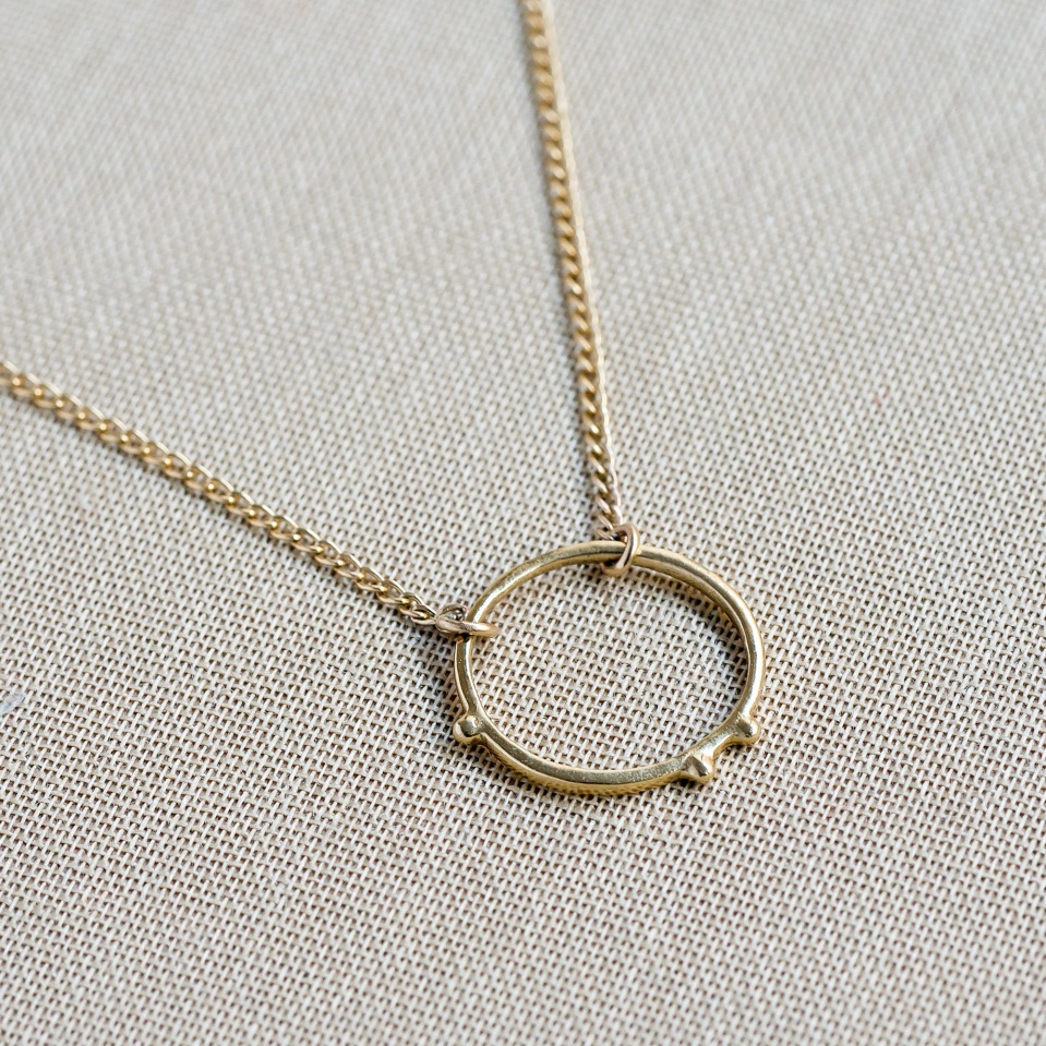 circle pendant mijatu