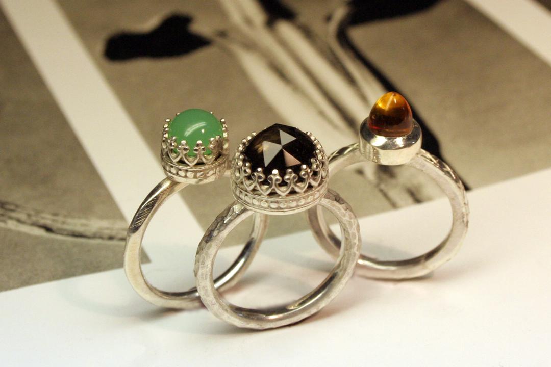 Gallery Wire Amp Bold Stones Gemstone Setting Liloveve